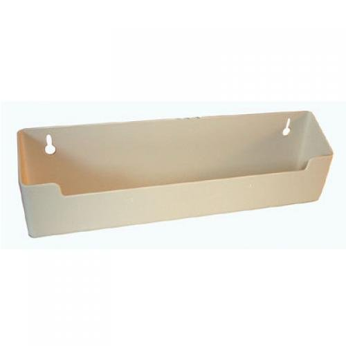 Knape & Vogt PSF 11WH Plastic Tip Out Trays Without Stop 11-inch Standard White