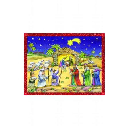 mer Advent - Manger Scene](Manger Silhouette Scene)