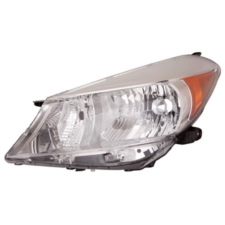 Capa Certified Headlight Assembly (2012-2014 Toyota Yaris  Aftermarket Driver Side Front Head Lamp Assembly 8117052D30 CAPA)