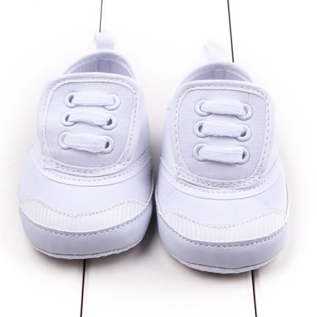 Kacakid 0-12M Infant Baby Warm Shoes First Walkers Boys Girls Soft Sole Canvas Shoes](Chuck Taylors Baby)