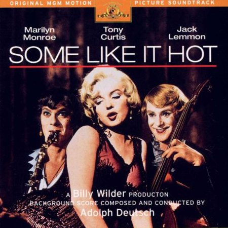 Some Like It Hot: Original MGM Motion Picture Soundtrack [Enhanced CD], By Adolph Deutsch Marilyn Monroe Format Audio CD From USA (Hot Nackt Deutsch Männer)
