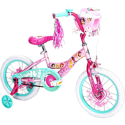 "Huffy Disney Princess 16"" Girls' Bike, Pink"