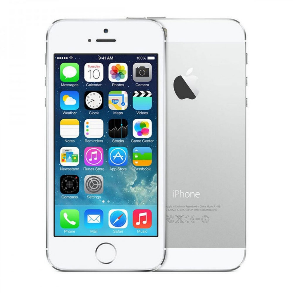 Apple iPhone 5s (Sprint), 16GB, Silver, A1453