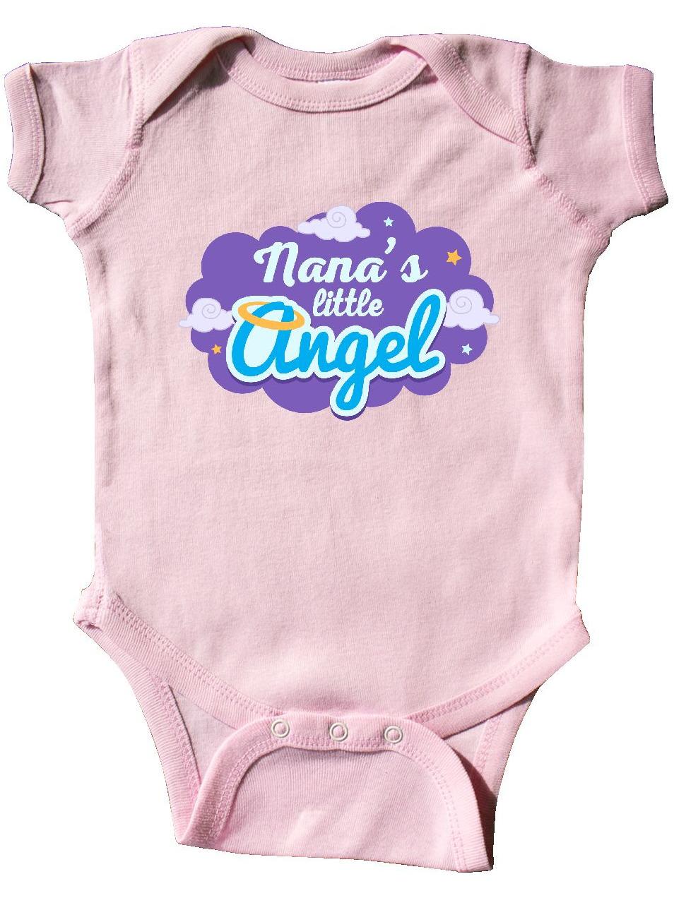 inktastic Nana Little Angel Grandchild Infant Creeper