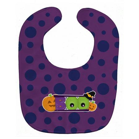 Halloween Boo Baby Bib