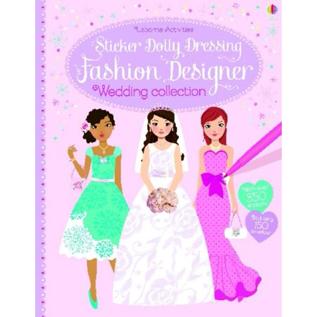 Sticker Dolly Dressing Fashion Designer Wedding (Stella Designer)