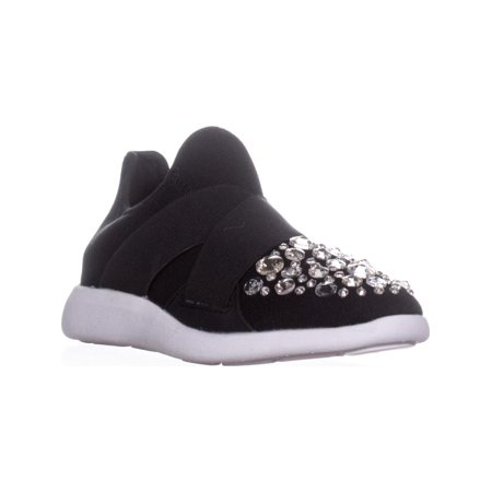 Womens Aldo Dorea Pull On Embellished Fashion Sneakers, Black