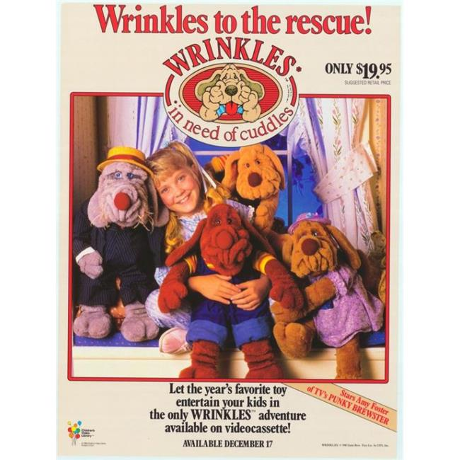 Posterazzi MOVAF0979 Wrinkles-In Need of Cuddles Movie Poster - 27 x 40 in. - image 1 of 1