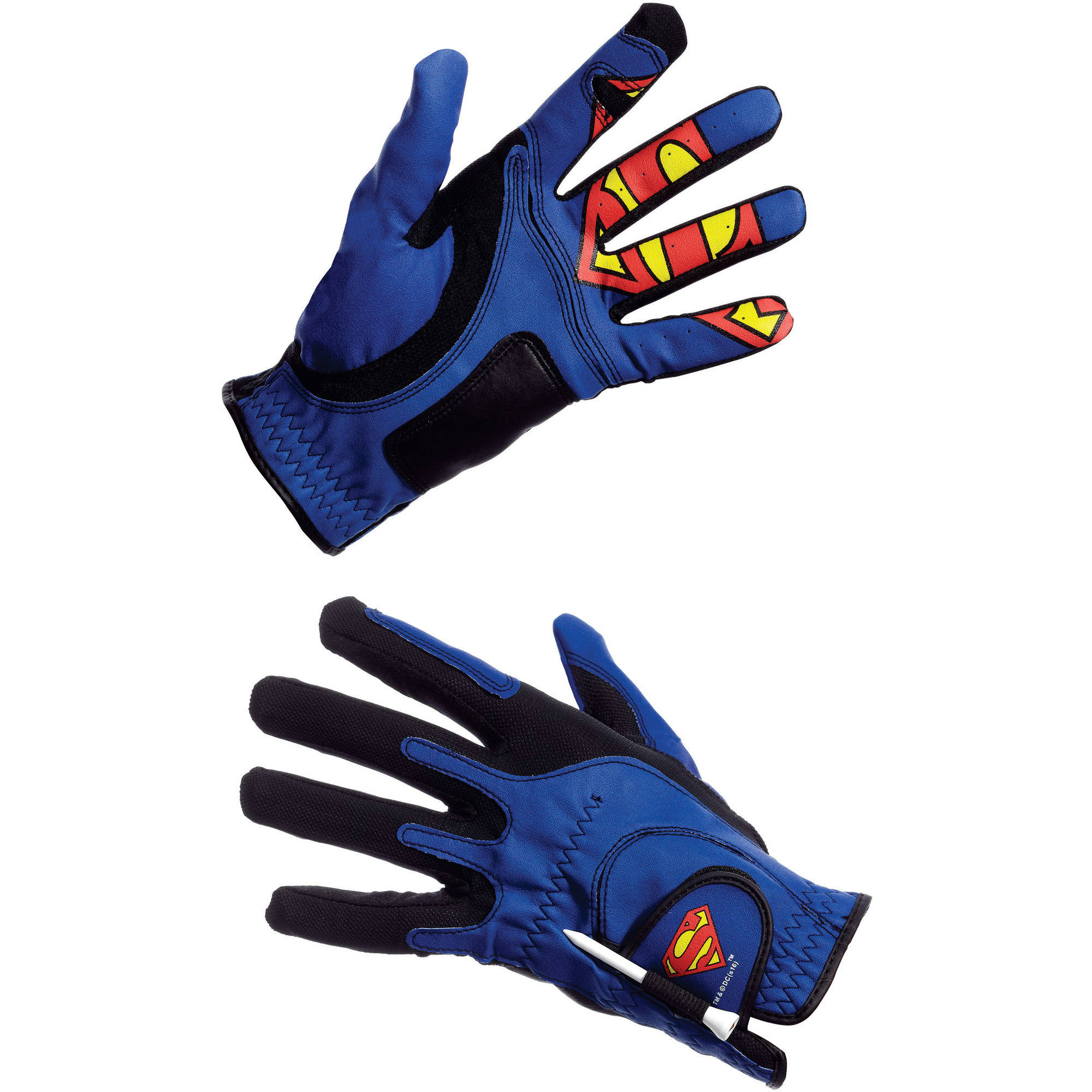 Superman Creative Covers for Golf Golf Glove by Soft Stuff Creations Inc.