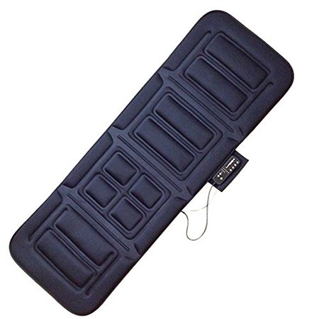 Mgt Body (Belmint Full Body Vibrating Massage Mat with Heat, Black)