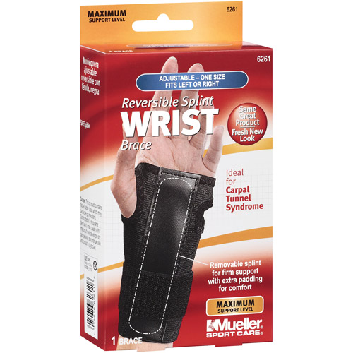 Mueller Sport Care Reversible Sprint Wrist Brace, maximum support