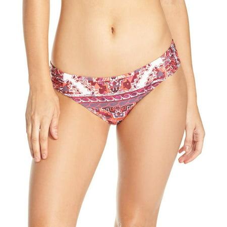 Becca Womens Swimsuit - Becca NEW Purple Womens Size XL Abstract Print Bikini Bottom Swimwear