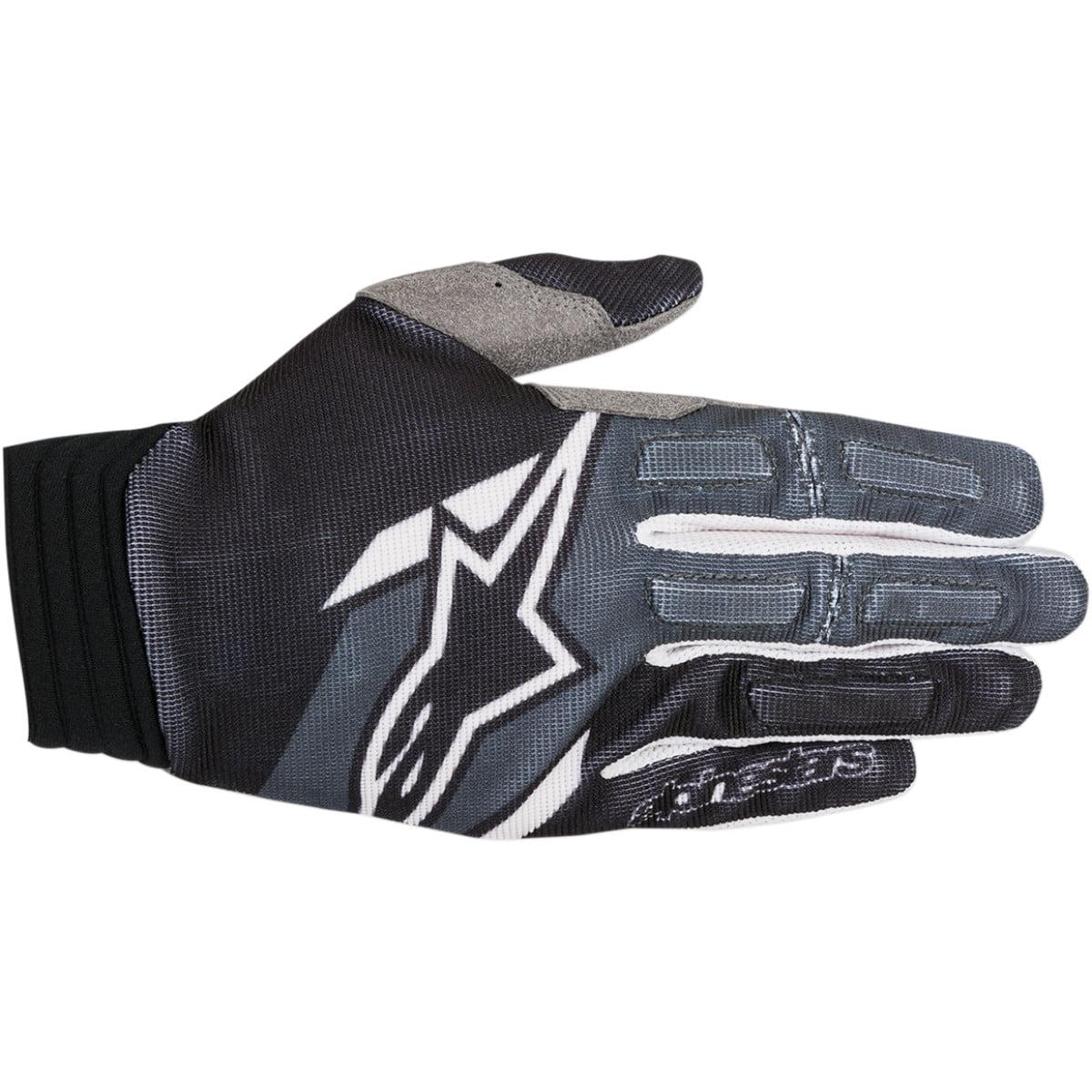 Alpinestars Aviator Gloves Short Cuff Gloves (multi Black/gray, Small)