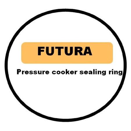 Ring Sealing - Futura Hawkins O70-16 Gasket Sealing Ring for 7-Liter Jumbo & 9-Liter Pressure Cooker, For Futura by Hawkins 7 Liter Jumbo to 9 Liter Futura Pressure Cookers By Hawkins/Futura
