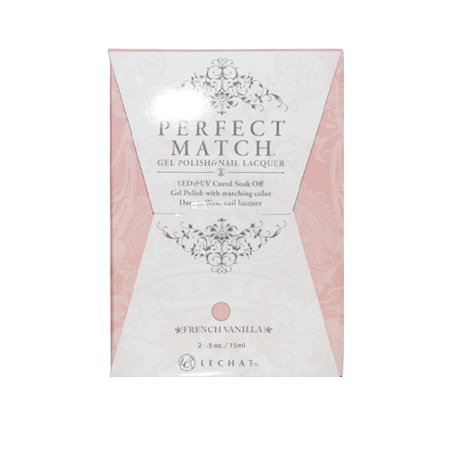 "LeChat Perfect Match Gel Polish + Nail Lacquer ""French Vanilla #PMS223"""