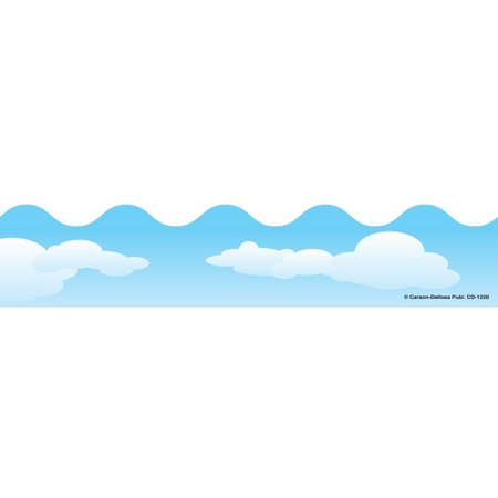 - Clouds Classic Scalloped Borders
