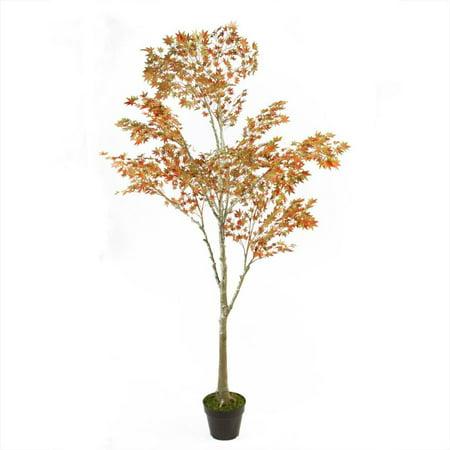 5.5? ¦+ Harvest Fall artificielle en pot orange Japanese Dream Maple Tree - image 2 de 2