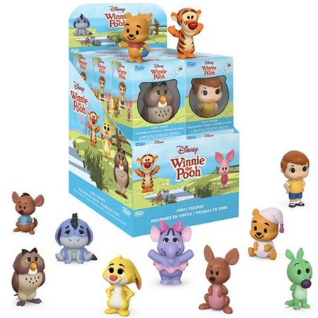 Disney Winnie the Pooh Funko Mini Vinyl Figures, One Mystery (Winnie The Pooh Animated Christmas Display Figure)