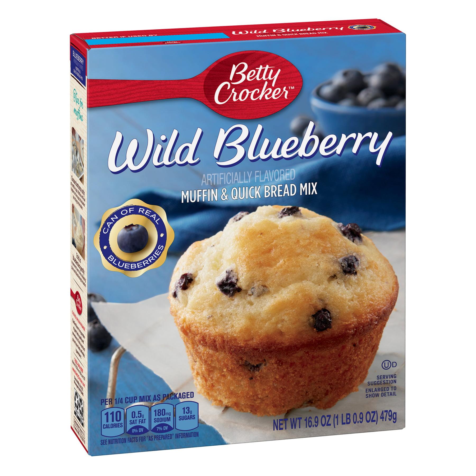 Betty Crocker Wild Blueberry Muffin and Quick Bread Mix 16 9 oz