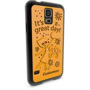 Samsung Galaxy S5 3D Printed Custom Phone Case - Disney/Pixar Inside Out - Joy