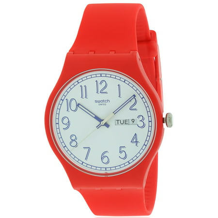 Swatch RED ME UP Mens Watch (Swatch Man)