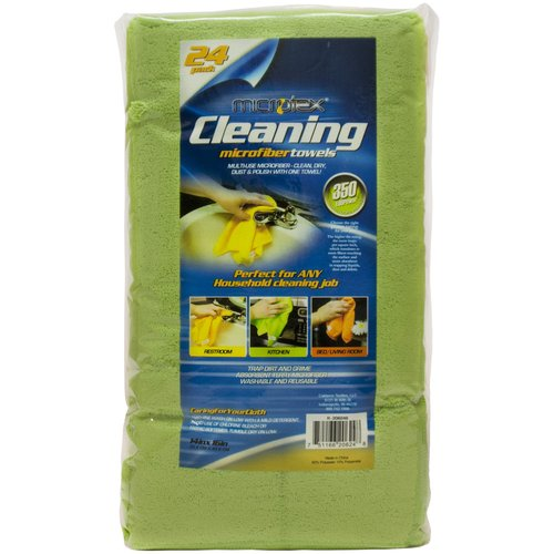 Microtex Microfiber Cleaning Towels, 24 count