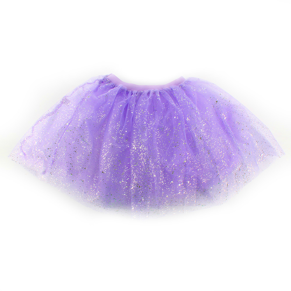 Kids Girls Sparkle Glitter Sequins Princess Dress Dance Ballet Tulle Tutu Skirts