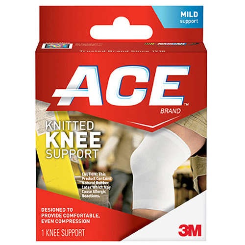 ACE Knitted Knee Support, XL, 209617