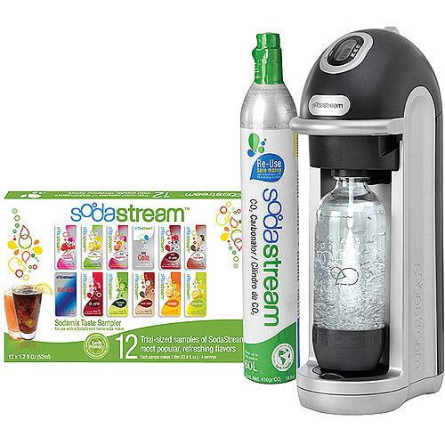 SodaStream Fizz Home Soda Maker Starter Kit, Black