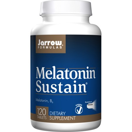 Clinical Nutrients 120 Tabs (Jarrow Formulas Melatonin Sustained 1mg, Brain and Memory Support, 120)