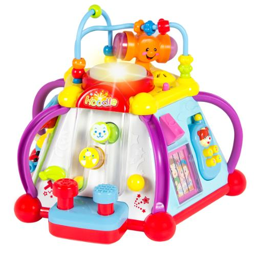 Baby Toy Musical Activity Cube Play Center with Lights,15 Functions & Skills