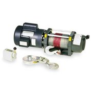 DAYTON 3VJ72 Electric Winch, 3/4HP, 115/230VAC
