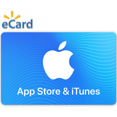 $50 App Store & iTunes Gift Card (Email Delivery) - Walmart.com
