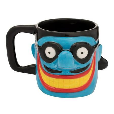 Vandor LLC The Beatles Limited Edition Submarine Meanie Sculpted Coffee Mug