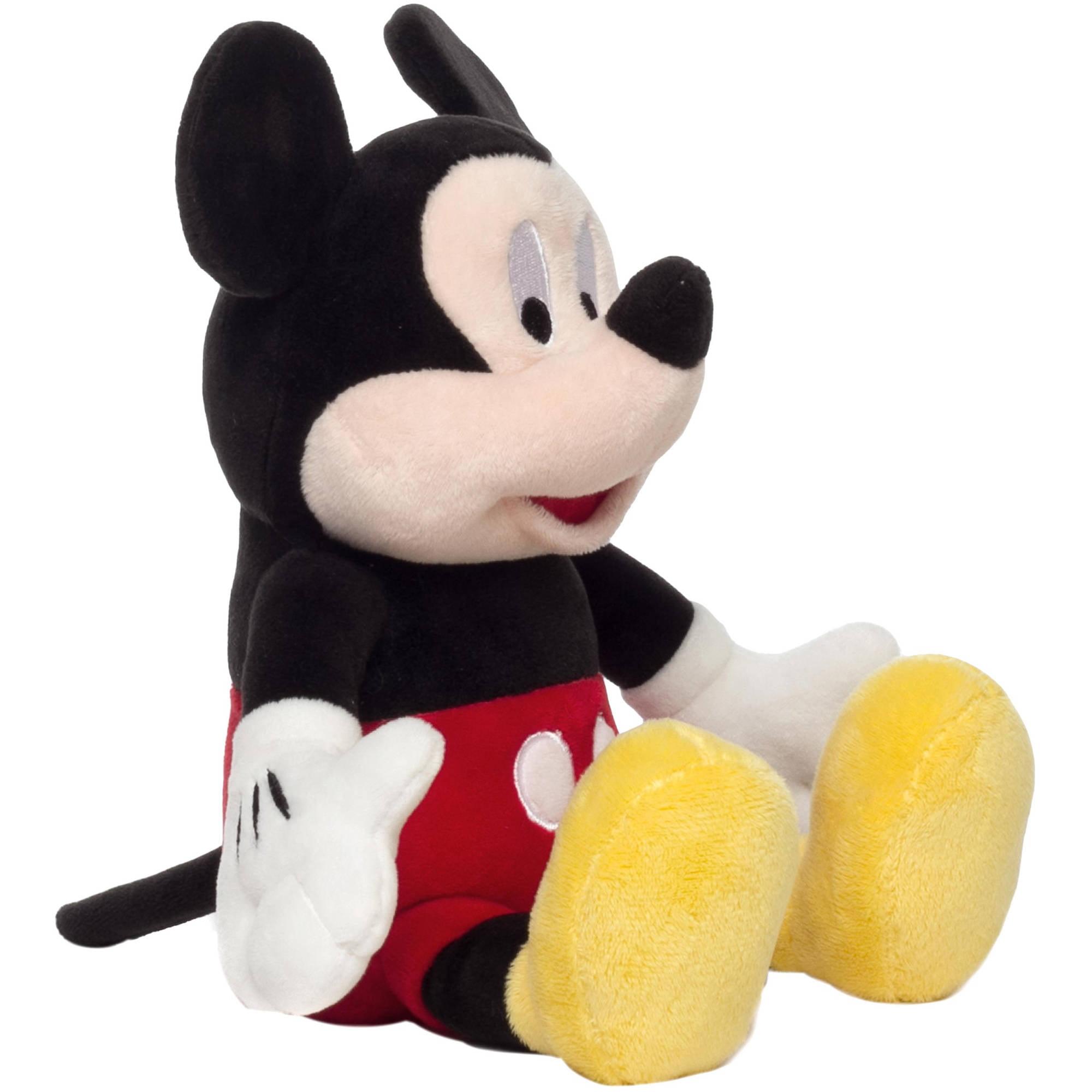 Mickey Mouse Plush Piggy Bank
