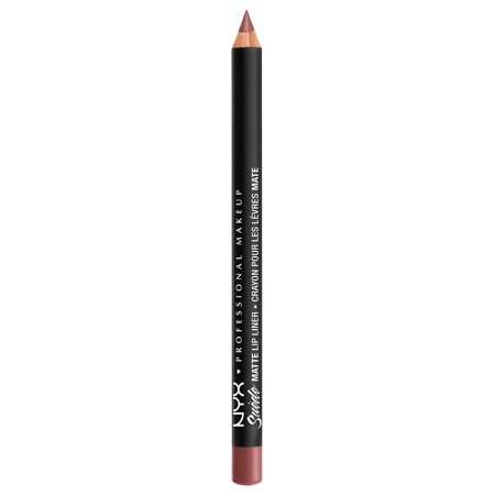 NYX Professional Makeup Suede Matte Lip Liner, Whipped Caviar