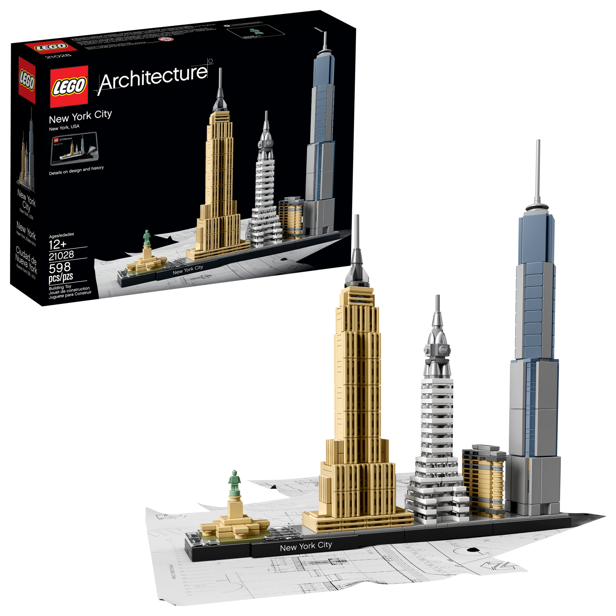 LEGO Architecture New York City 20128