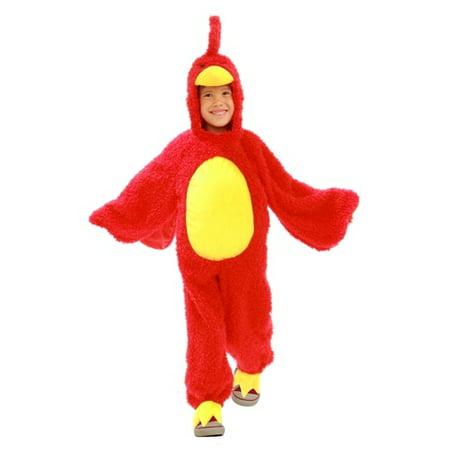 Princess Paradise Kids Angry Birds Red Grumpy Bird Plush Halloween Costume