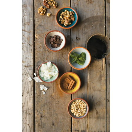 Now Designs Dip Terracotta Pinch Bowls, Set of 6
