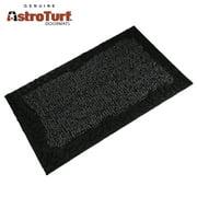 Clean Machine AstroTurf Doormat Mat Zen Pebbles 18x30 Shoe Scraper Green Gray