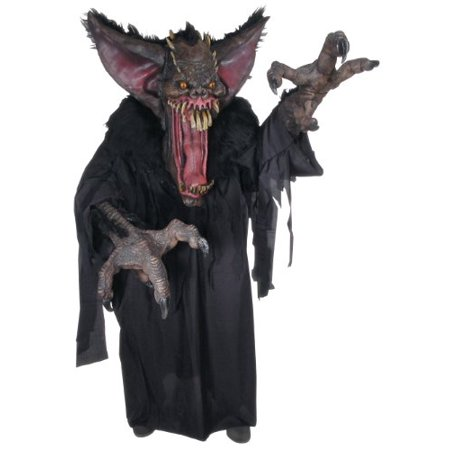 Creature Reacher Gruesome Bat Adult Halloween Costume, Size: Men's - One Size (Cute Halloween Bat Drawings)