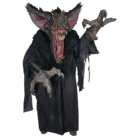 Creature Reacher Gruesome Bat Adult Halloween Costume, Size: Men's - One - Bad Halloween Costumes