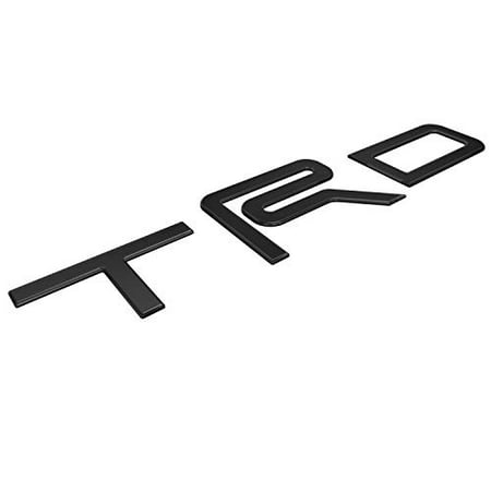 BDTrims | Domed Letters Inserts fits TRD Skid Plate 2016-2019 Tacoma Models (Glossy Black)