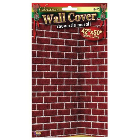 Party Wall Decorations (Brick Wall Cover Party Decoration 42 x 50)