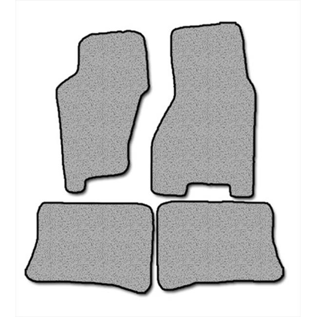 Averys Floor Mats 1257-701 Custom-Fit Nylon Carpeted Floor Mats For 1999-2004 Jeep Grand Cherokee, Black, 4 Piece Set