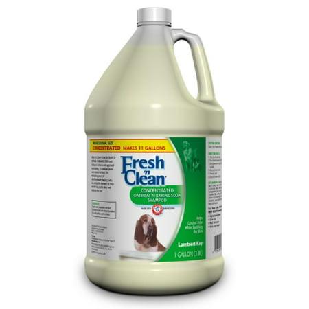 Lambert Kay Fresh 'n Clean Oatmeal and Baking Soda Dog Shampoo, 1 gal, Aromatic