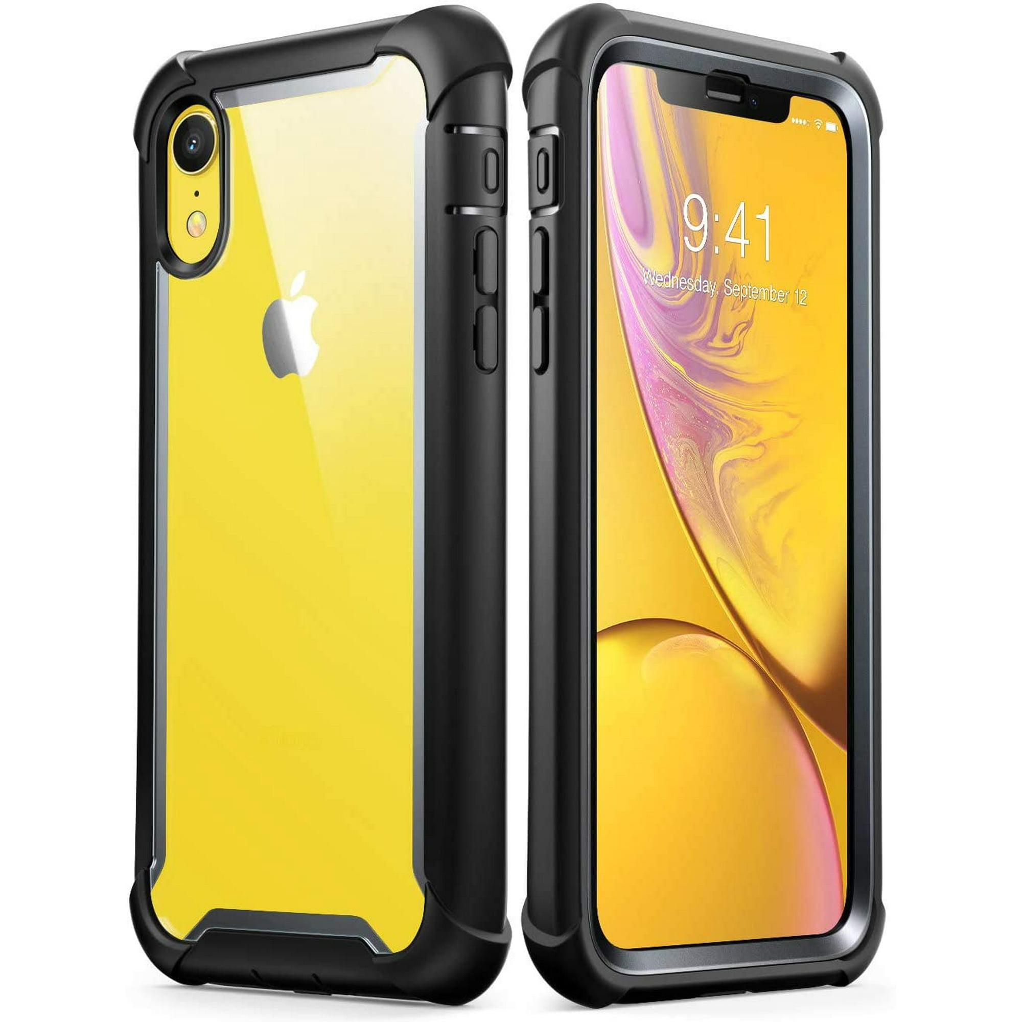 i-Blason iPhone XR Case, iPhone XR [Ares] Full-Body Rugged Clear ...