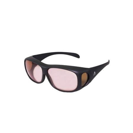 Axon Optics COVER-RX Migraine Glasses for Migraine Relief and Light Sensitivity (Hocking Glass Block Optic)