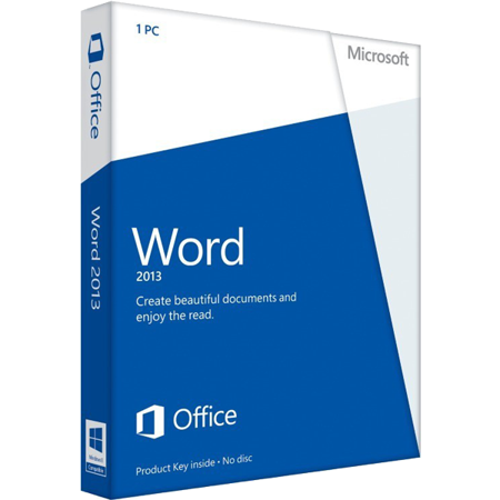 Microsoft Word 2013 Key Card - image 1 de 1