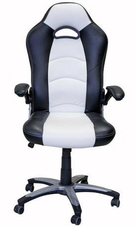 viscologic lancer chaise de bureau pivotante de style jeu racing. Black Bedroom Furniture Sets. Home Design Ideas